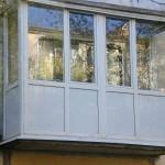 Остекление балконов и лоджий профилем ПВХ