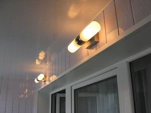 разводка электрики на балконе